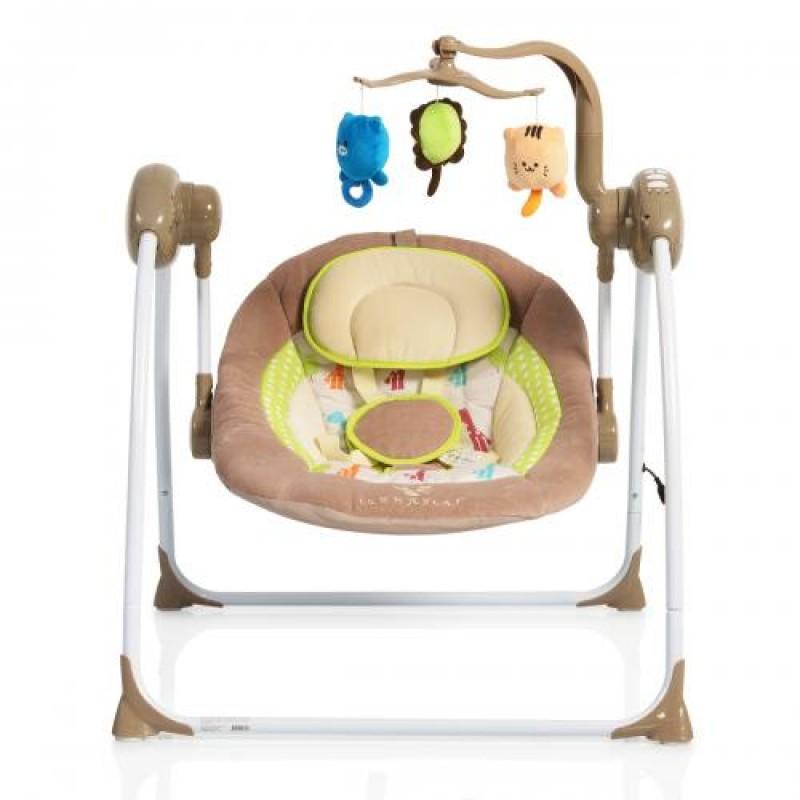 Ηλεκτρική Κούνια Ρηλάξ Cangaroo Baby Swing+ Cappuccino