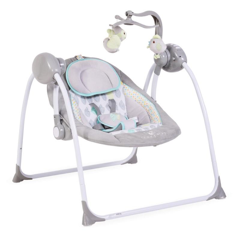 Ηλεκτρική Κούνια Ρηλάξ Cangaroo Baby Swing+ Grey