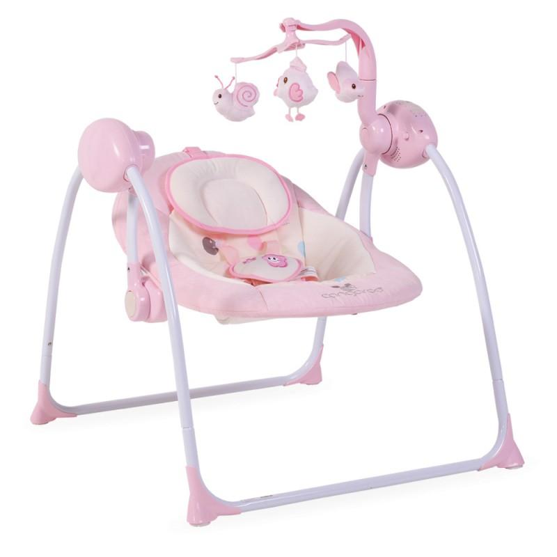 Ηλεκτρική Κούνια Ρηλάξ Cangaroo Baby Swing+ Pink