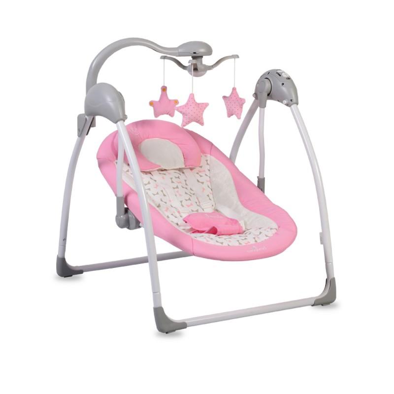 Ηλεκτρική κούνια - ρηλάξ Cangaroo Swing Jessie Pink