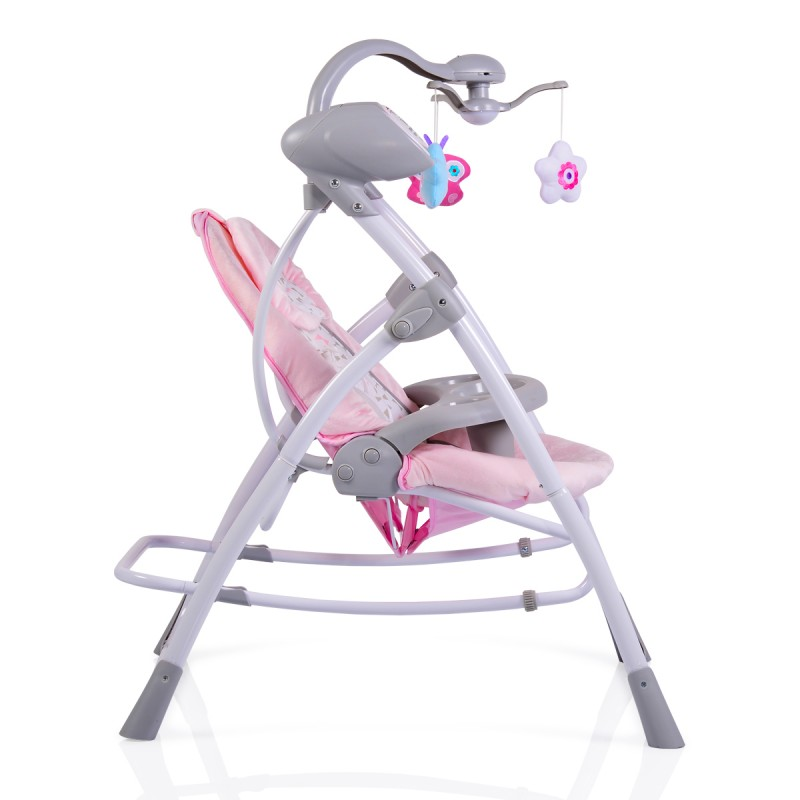 Ηλεκτρική Κούνια Ρηλάξ Cangaroo Swing Star Pink