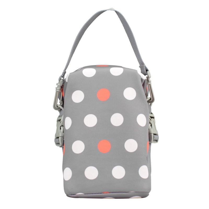 Ισοθερμική τσάντα μεταφοράς Dr.Brown's Polka Dot