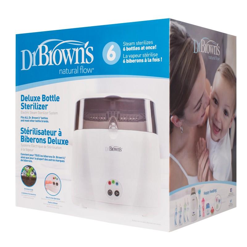 Ηλεκτρικός αποστειρωτής ατμού LED Dr.Brown's