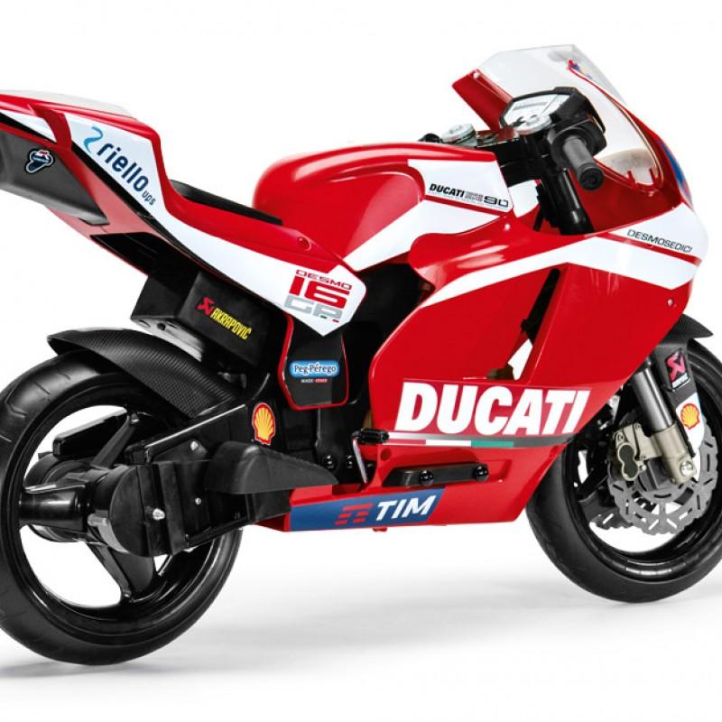 Ηλεκτροκίνητη Μηχανή Peg Perego Ducati GP 12V