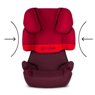 Κάθισμα Αυτοκινήτου Cybex Solution X 15-36kg Rumba Red (Δώρο Αμβλυγώνιος Καθρέφτης) 2