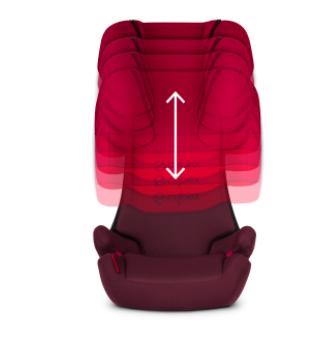 Κάθισμα Αυτοκινήτου Cybex Solution X 15-36kg Rumba Red (Δώρο Αμβλυγώνιος Καθρέφτης) 3